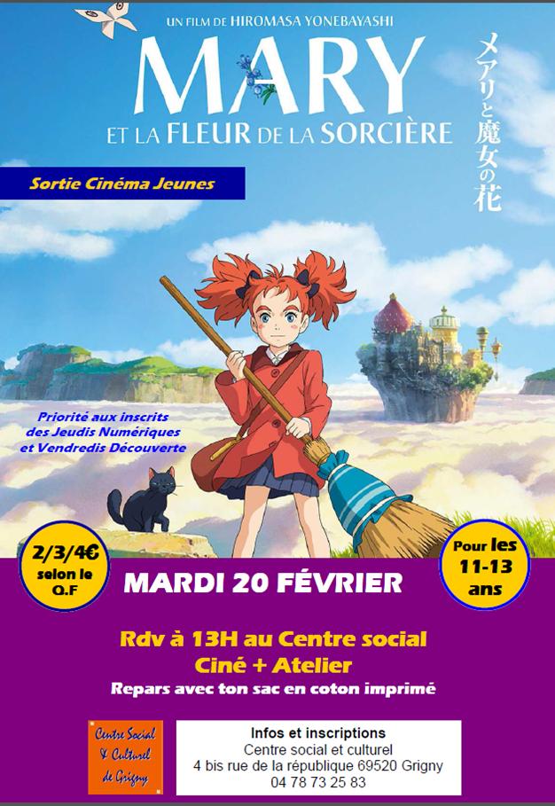 Sortie Cinéma /Jeunesse