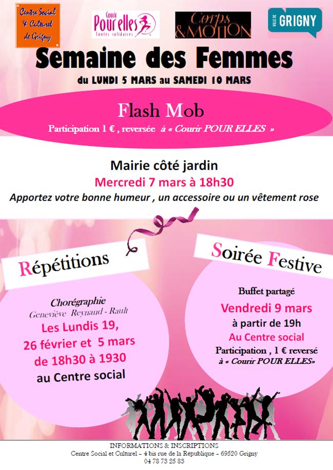 Semaine des Femmes / Flash Mob