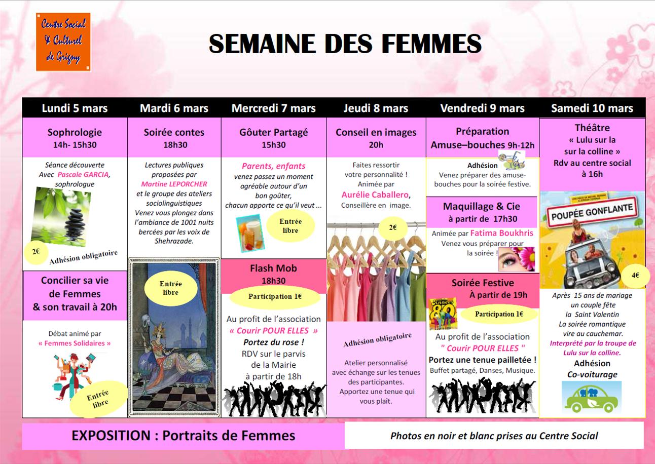 Semaine des Femmes