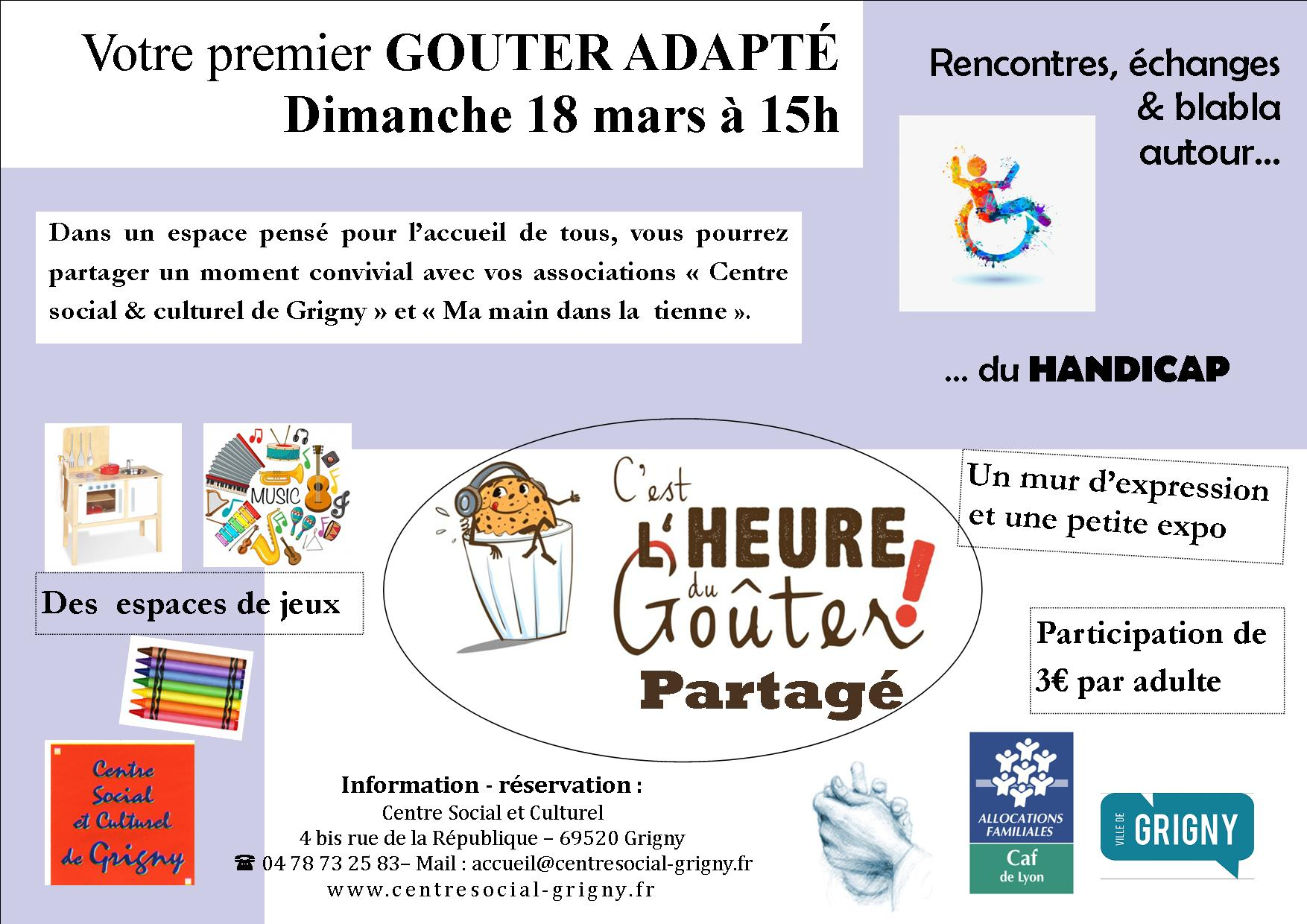 Rencontre expression handicap