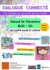 Dialogue Connecté, samedi 1er déc !