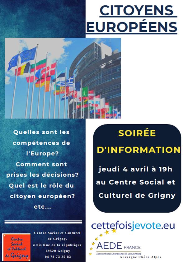 Information / Élections européennes