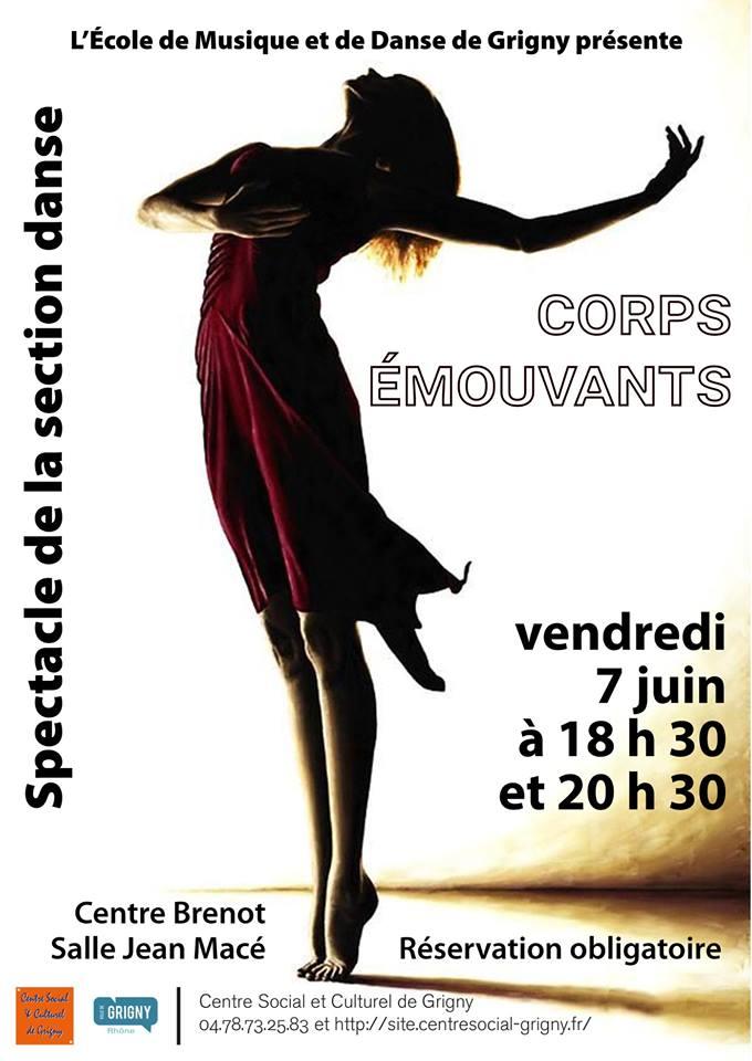 Corps Emouvants / gala de danse